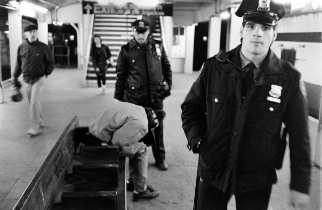 PROWinston Vargas Follow Homeless - NYC Subway system - 1992