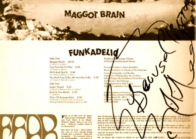 MAGGOT BRAIN ALBUM